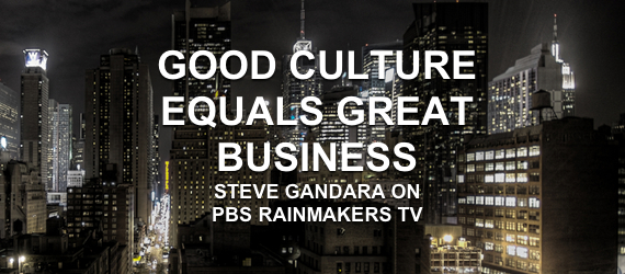 business culture steve gandara PBS show tv rainmakers