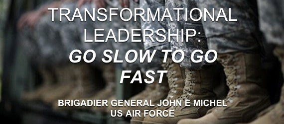 JOHN E MICHEL transformational leadership training