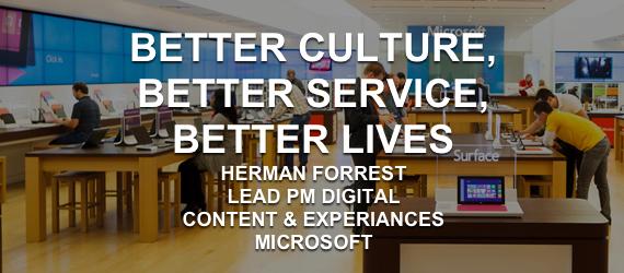 HERMAN FORREST Microsoft Excellent Cultures
